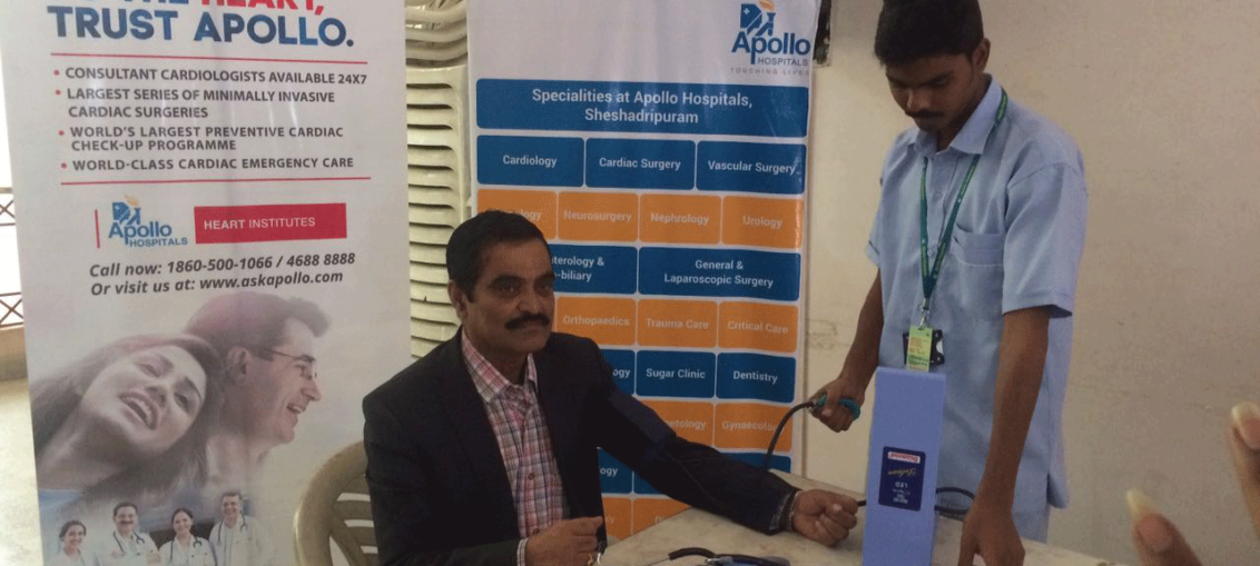 Appolo Health Check Up at PIA