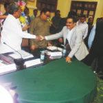 PIA Former President Greeting CM of Karnataka