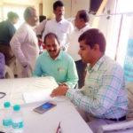 Mr Malyadri Reddy at Health Check Up Camp