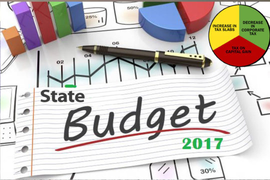 State Budget for MSME's PIA President