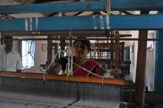 Power Looms Shed Noise