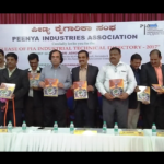 Ashok Kheny Releasing Peenya Industry Directory