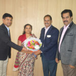 MRS.NANDHINI Joint Director with PIA Members