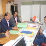 PIA Member met Mr Swamy KIDB Chief Development