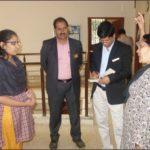 PIA President & Hon Secretory visit Manav Charities