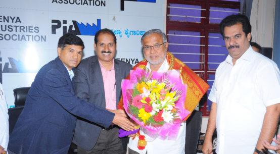 Sri Suresh Kumar, MLA with PIA President & Hon Secretory