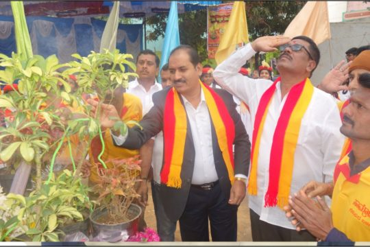 PIA President Flag Hosting Kannada Rajyotsava Celebration