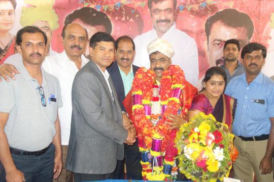 PIA Members Greeting Local Corporator