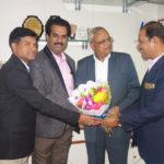 PIA Members Greeting Mr Sahu General Manager - 1
