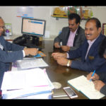 Mr Sahu General Manager meet with PIA Members
