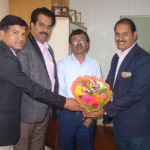 PIA Members Greeting Mr Swamy - KIDB Chief Development Officer