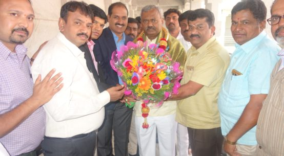 PIA Officers with ST Somashekar