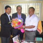 Venkatesh - Joint Director with PIA President & Hon Secretory