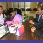 V T Venkatesh - Joint Director with PIA President & Hon Secretory