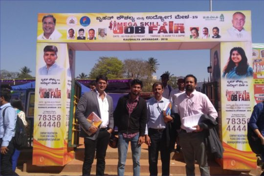 Mega Skill & Job Fair at Peenya