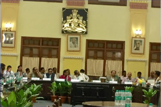 Pre-Budget Meeting with Hon CM Siddaramaiah