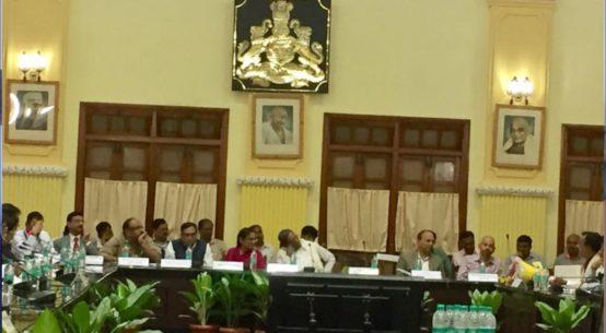 Pre-Budget Meeting with Hon CM Siddaramaiah