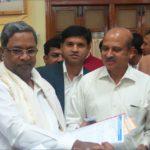 CM Siddaramaiah with PIA Hon Secretory