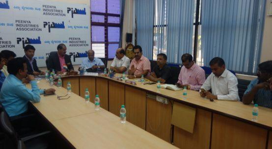 Sri Prakash at PIA Office