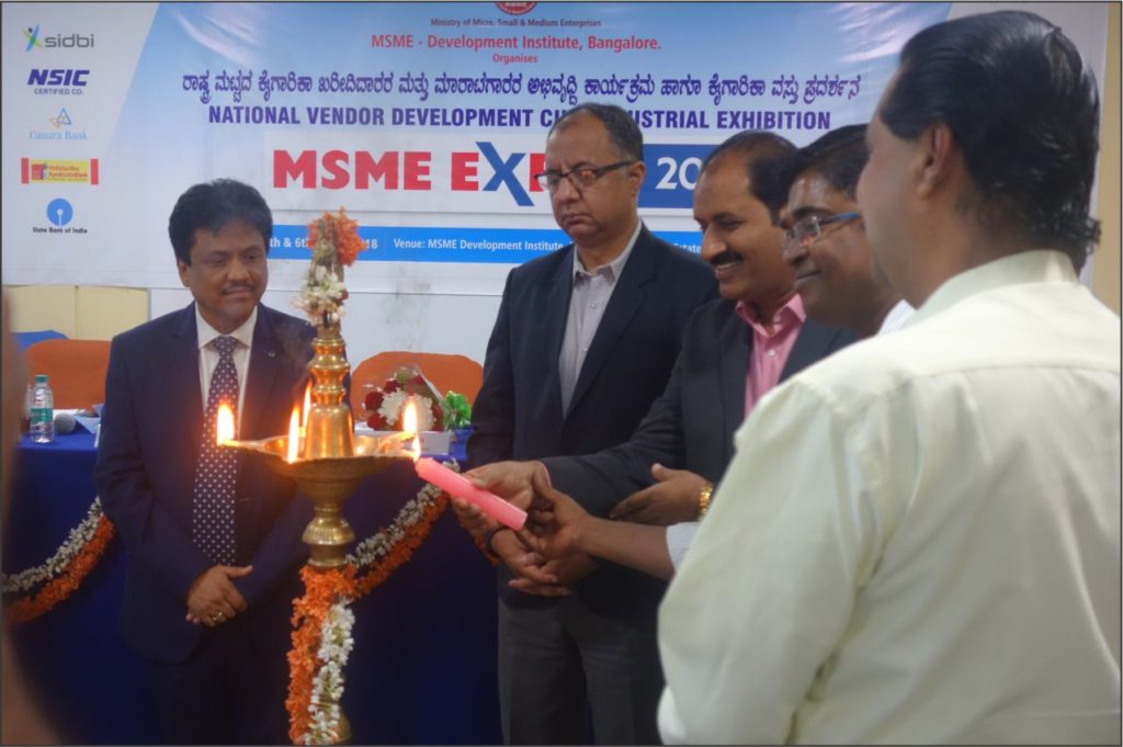 Inauguration of VDP - MSME Expo 2018