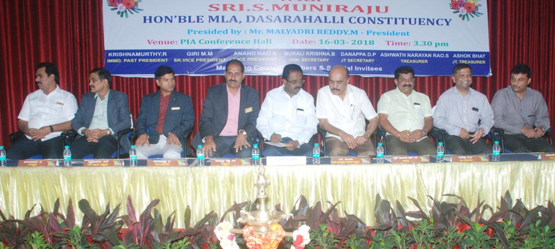 Sri Muniraju MLA of Dasarahalli Constituency
