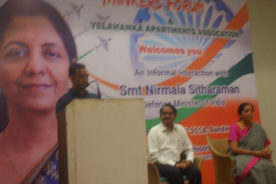 Smt Nirmala Sithraman - Defence Minister of India