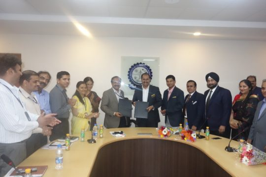 Discussion on Industry and Institute on telecommunication and skills
