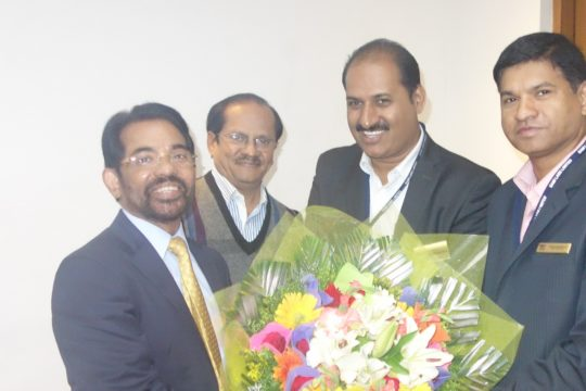 Mr V. G. Nair, Group CEO, SAMI Group