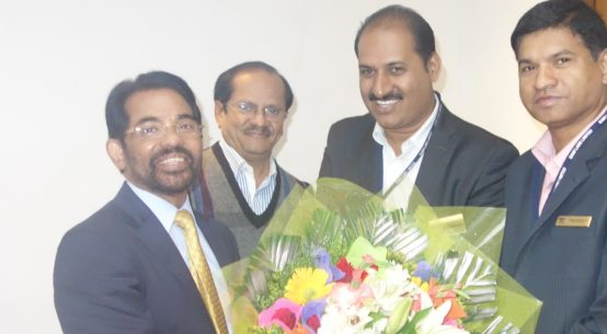 Mr V. G. Nair, Group CEO, SAMI Group