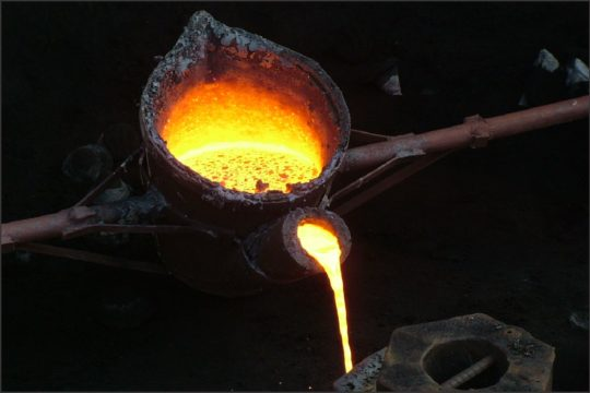 Melted Iron
