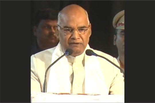 Ramnath Kovind India President