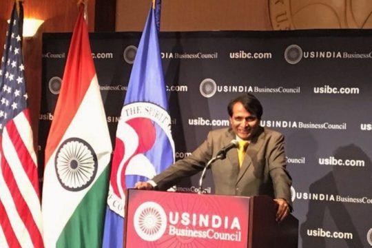 Suresh Prabhu - Union Commerce & Industries Minister