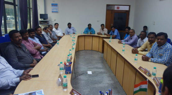 CETP Meeting at PIA Office
