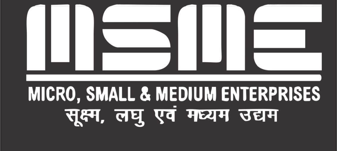 MSME Black Color Logo