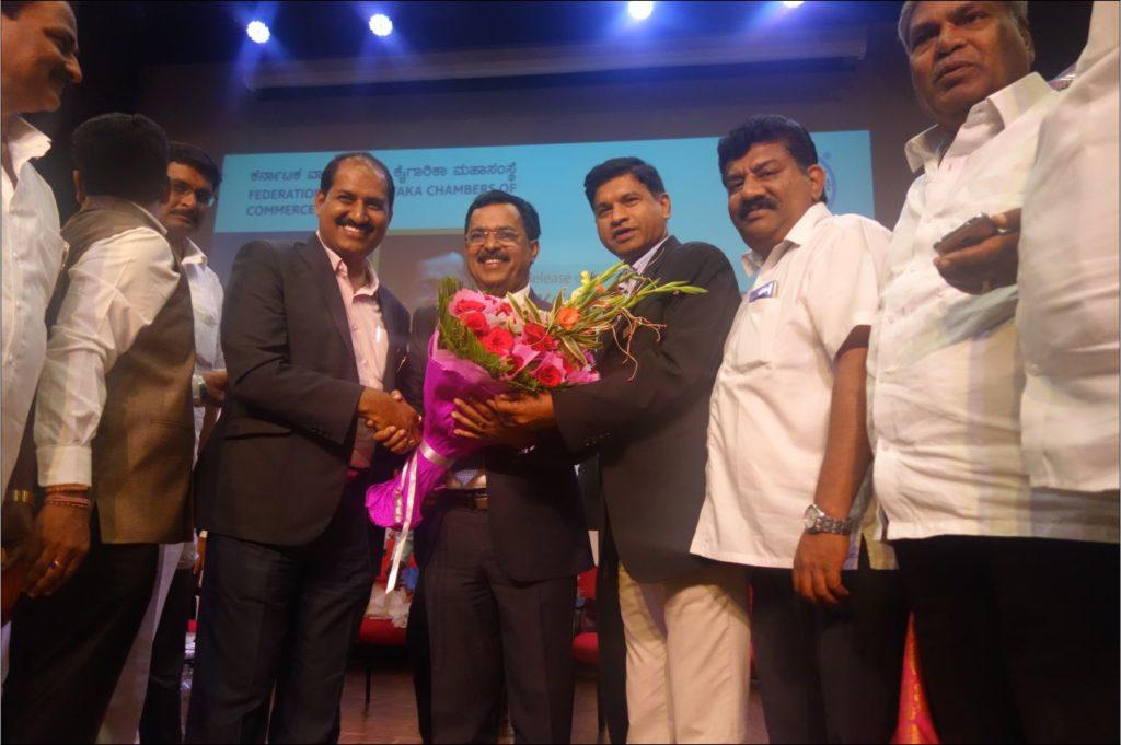 PIA - President & Hon Secretory congratulating Sri Sudhakar Shetty