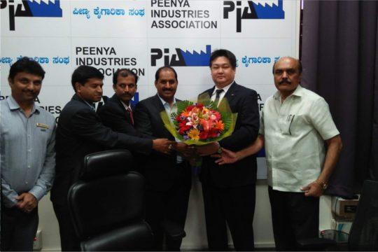 Japanese Delegates Visit PIA Office