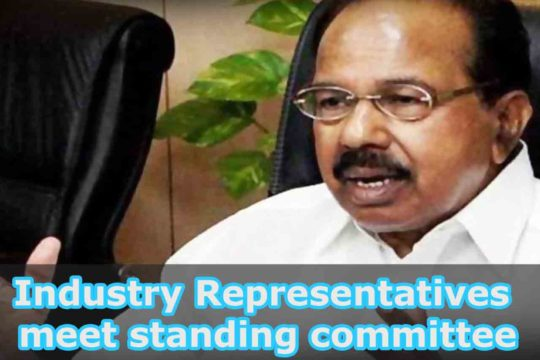 Industry Representatives meet standing committee