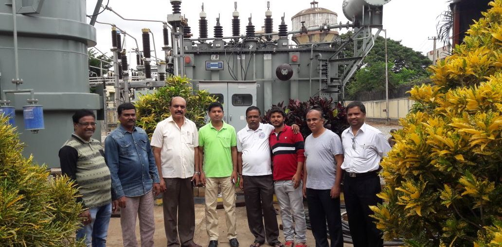 PIA Officials Visit BESCOM Substation at NG Halli