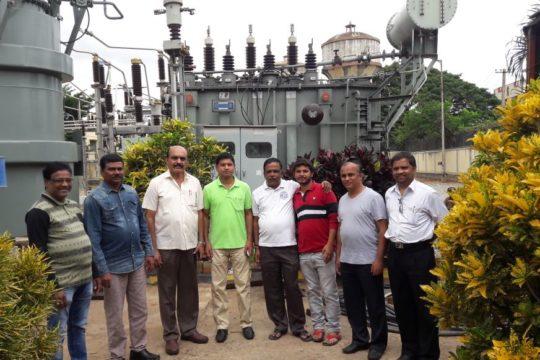 PIA Officials Visit BESCOM Substation at NG Halli