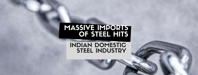 Massive Imports of Steel hits