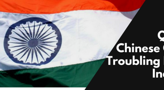 Poor Quality Chinese Goods Troubling Indian Industry