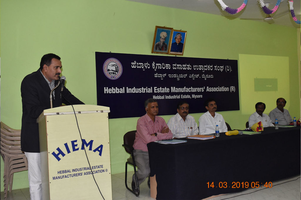 Hebbal Industrial Estate Manufacturers Association - Mysore